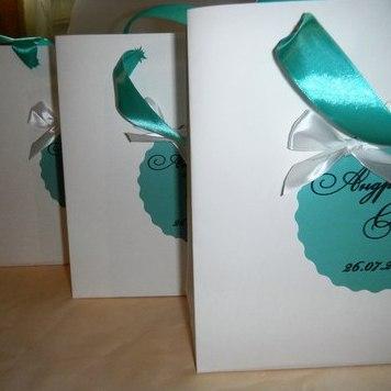 Упаковка для ваших свадебных сувениров